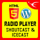 Radio Player Shoutcast & Icecast WordPress Plugin